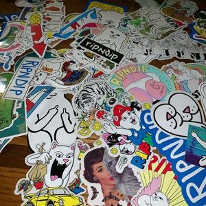 15 Pc. RipnDip Stickers